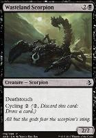 Amonkhet Foil: Wasteland Scorpion