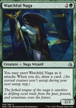 Amonkhet Foil: Watchful Naga