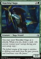 Amonkhet Foil: Watchful Naga