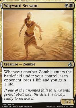 Amonkhet: Wayward Servant