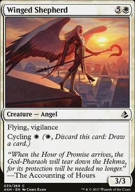 Amonkhet Foil: Winged Shepherd
