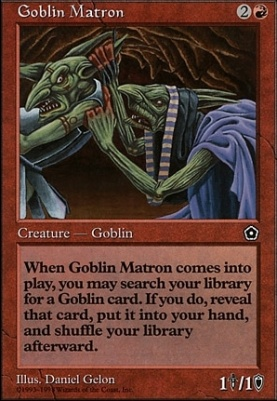 Anthologies: Goblin Matron
