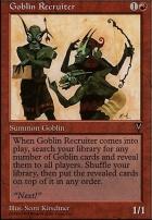 Anthologies: Goblin Recruiter