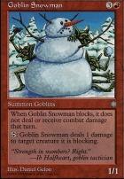 Anthologies: Goblin Snowman