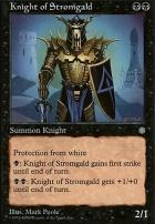 Anthologies: Knight of Stromgald