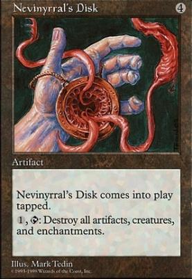 Anthologies: Nevinyrral's Disk