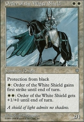 Anthologies: Order of the White Shield