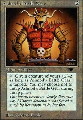 Antiquities: Ashnod's Battle Gear