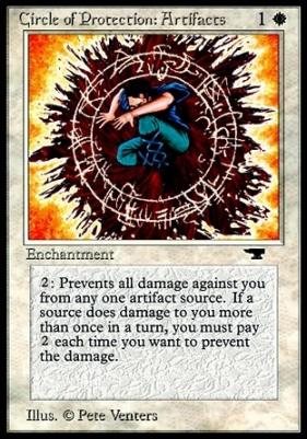 1x MTG Magic The Gathering Antiquites Rakalite LP