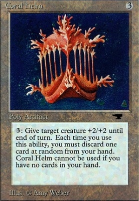 Antiquities: Coral Helm