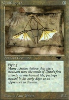 Antiquities: Ornithopter
