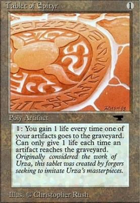 Antiquities: Tablet of Epityr