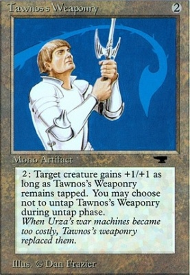 Antiquities: Tawnos's Weaponry