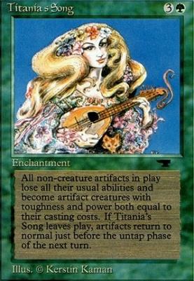 Antiquities: Titania's Song