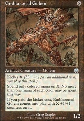 Apocalypse: Emblazoned Golem