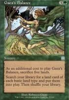 Apocalypse Foil: Gaea's Balance