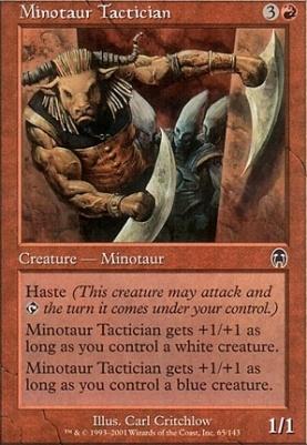 Apocalypse Foil: Minotaur Tactician