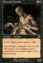 Apocalypse Foil: Mournful Zombie