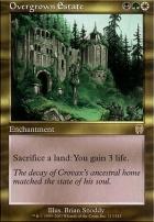 Apocalypse Foil: Overgrown Estate