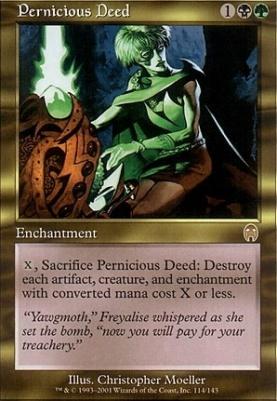 Apocalypse Foil: Pernicious Deed