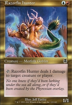 Apocalypse: Razorfin Hunter
