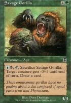 Apocalypse Foil: Savage Gorilla