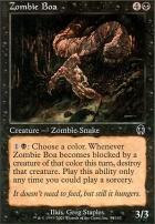 Apocalypse: Zombie Boa