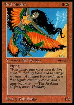 Arabian Nights: Bird Maiden
