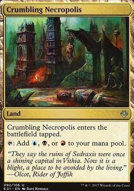 Archenemy - Nicol Bolas: Crumbling Necropolis