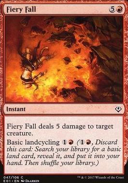 Archenemy - Nicol Bolas: Fiery Fall