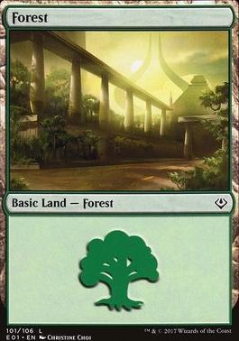 Archenemy - Nicol Bolas: Forest (101 A)