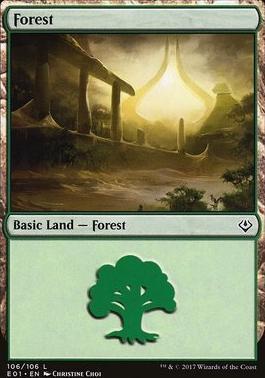 Archenemy - Nicol Bolas: Forest (106 B)