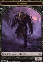 Archenemy - Nicol Bolas: Horror Token - Zombie Token