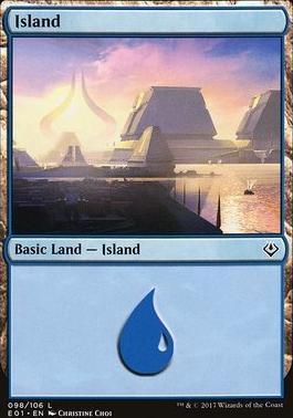 Archenemy - Nicol Bolas: Island (098 A)