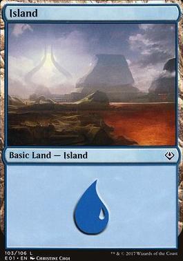 Archenemy - Nicol Bolas: Island (103 B)