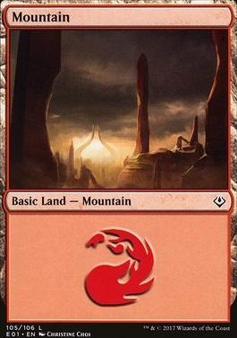 Archenemy - Nicol Bolas: Mountain (105 B)
