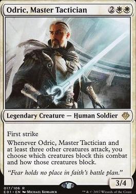 Archenemy - Nicol Bolas: Odric, Master Tactician