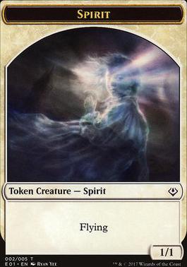 Archenemy - Nicol Bolas: Spirit Token - Soldier Token