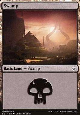 Archenemy - Nicol Bolas: Swamp (099 A)