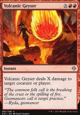 Archenemy - Nicol Bolas: Volcanic Geyser