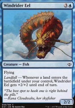 Archenemy - Nicol Bolas: Windrider Eel