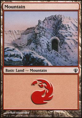 Archenemy: Mountain (145 A)