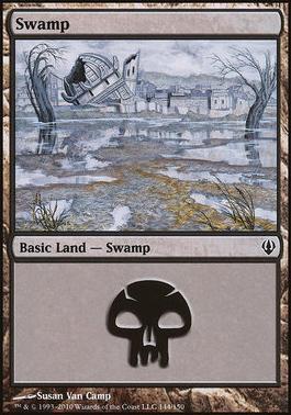 Archenemy: Swamp (144 C)