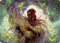 Art Series - Adventures in the Forgotten Realms - Signed: Circle of Dreams Druid Art Card (Not Tournament Legal - Signed)