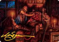 Art Series - Adventures in the Forgotten Realms - Signed: Long Rest Art Card (Not Tournament Legal - Signed)