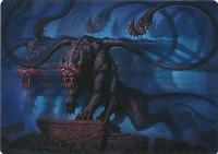 Art Series - Adventures in the Forgotten Realms: Displacer Beast Art Card (Not Tournament Legal)