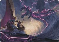 Art Series - Adventures in the Forgotten Realms: Hall of Storm Giants Art Card (Not Tournament Legal)