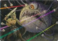 Art Series - Adventures in the Forgotten Realms: Hive of the Eye Tyrant Art Card (Not Tournament Legal)