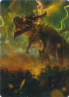 Art Series - Modern Horizons 2: Thrasta, Tempest's Roar Art Card (Vargas - Not Tournament Legal)