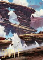 Art Series - Zendikar Rising - Signed: Boulderloft Pathway Art Card (Not Tournament Legal - Signed)